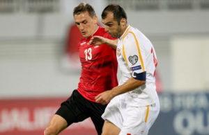 Албанците револтирани од одлуката мечот со Македонија да се игра во Струмица