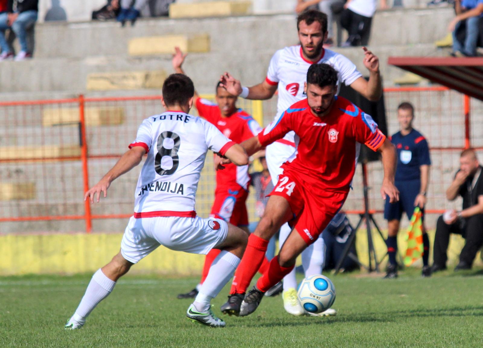 Работнички   Шкендија е мега пресметката од осминафиналето во Купот на Македонија