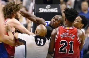Тепачка во НБА, се пресметаа Лопез и Ибака под кошот (ВИДЕО)
