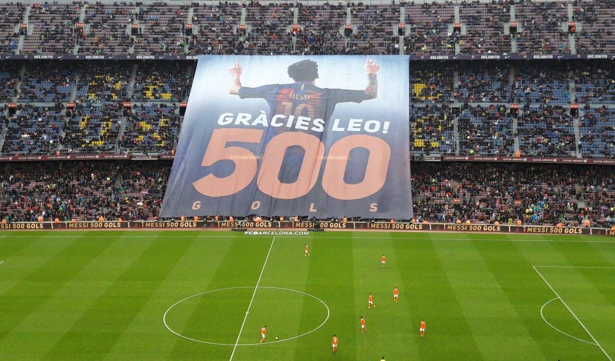 Камп Ноу е благодарен, 'Лео 500'