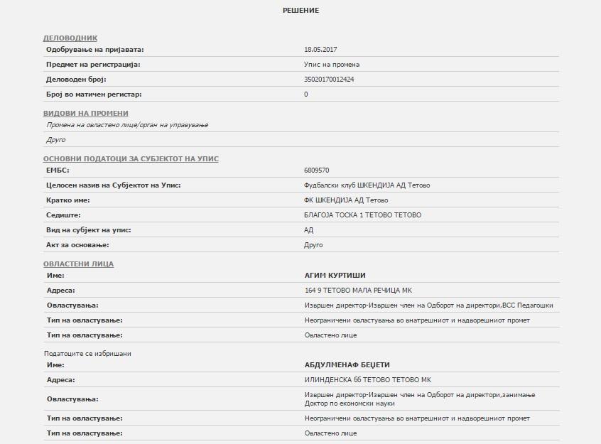 Print skrin - CRM