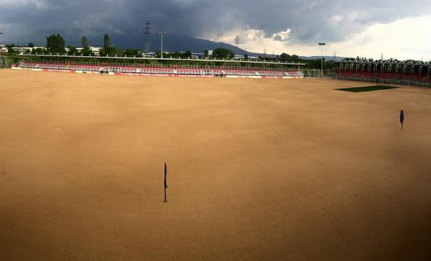 """Стадионот на тренинг центарот """"Петар Милошевски"""" финишира со подготовките за европски натпревари"""