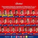 Младите Шпанци со супер тим на ЕП во Полска  Асенсио  Саул  Белерин  Делофеу  Суарез