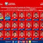 Лопетеги го одреди составот за мечот со Македонија  Иниеста  Коста  Силва  Пике  Рамос