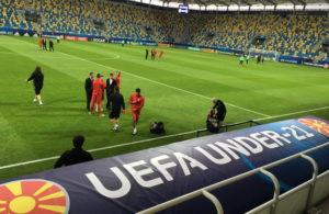 Со Ѓоргев и Ангелов во нападот, Шишковски на голот против Португалија