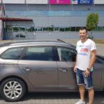 Дејан Манасков доби автомобил за добредојде во Веспрем