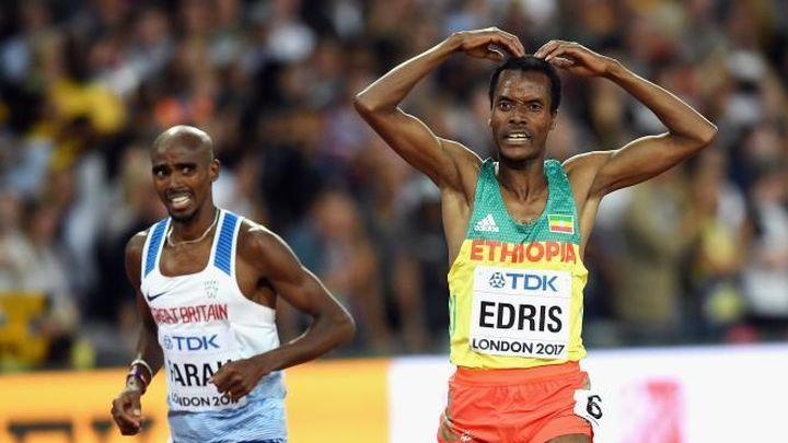 Се случи чудо  Фарах загуби  Муктар Едрис најбрз на 5 000 метри на СП