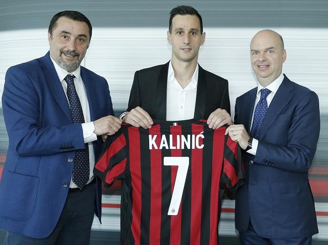 Никола Калиниќ ја зеде  седумката  во Милан
