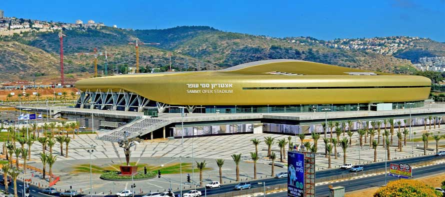 sammy-ofer-stadium in haifa