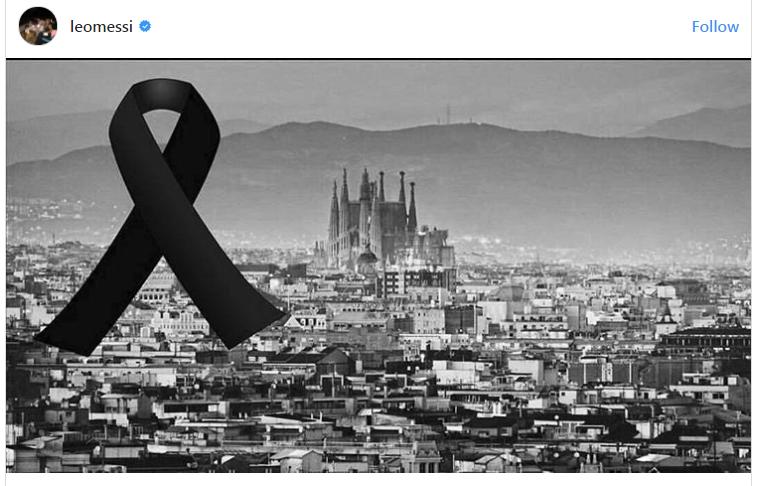 Ѕвездите во еден глас за Барселона  Стоп на теророт  мирот мора да победи