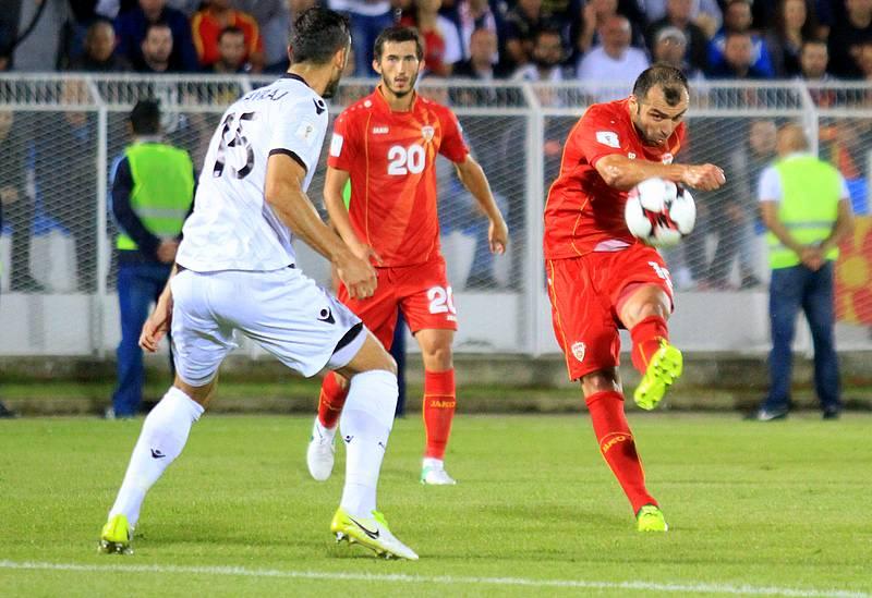 ФИФА листа  Македонија скокна 32 места  сега е на 103 позиција