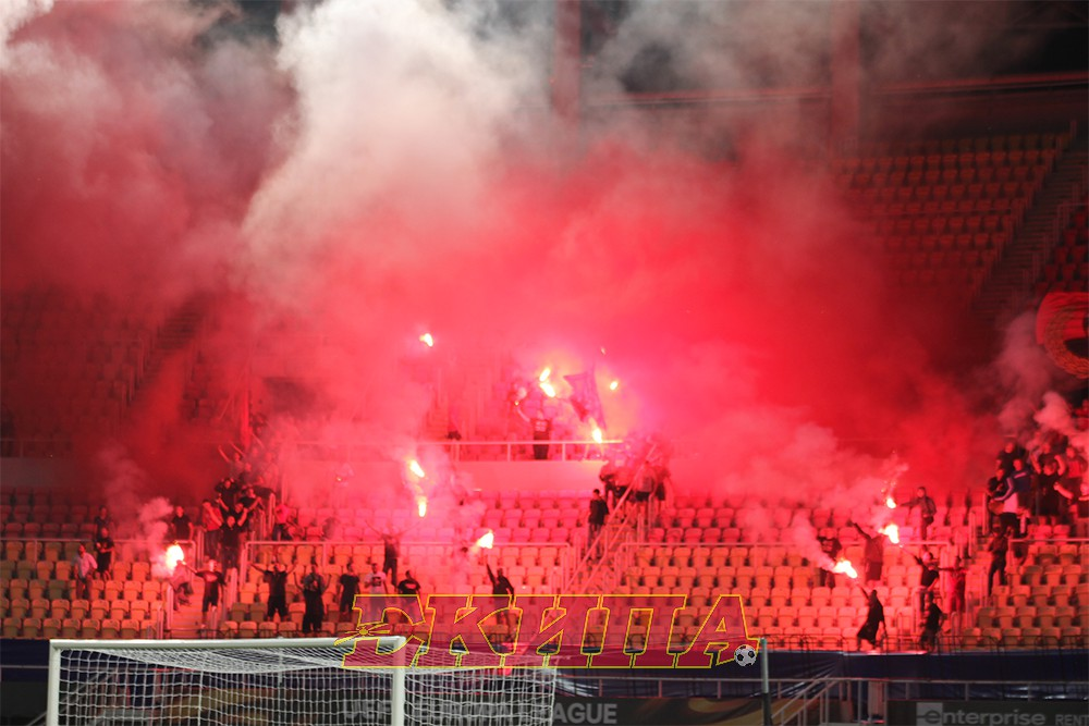 И делегатот на УЕФА попушти   Комити  го  запалија  Филип Втори