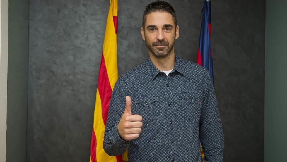 Ветеранот Наваро потпиша десетгодишен договор со Барселона