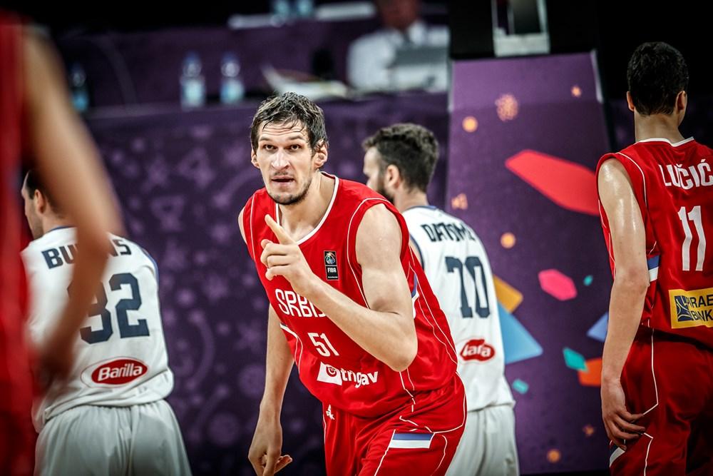 Србите го фатија  последниот воз  за полуфинале на Евробаскетот
