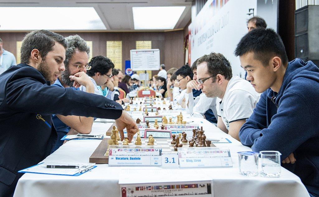 Шахистите на Алкалоид убедливи и против Падова  денеска дербито со Глобус