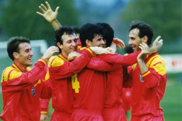 Потсетување на златната генерација  Крањ од 1993 засекогаш запишан во фудбалската историја на Македонија