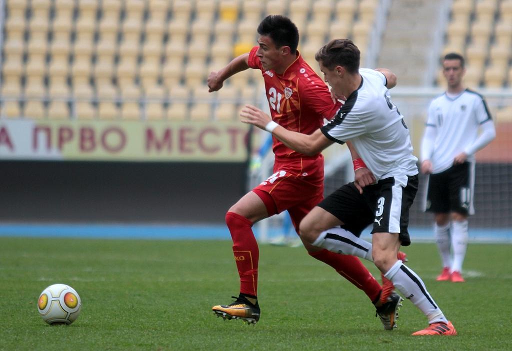 Дебакл во најава   Македонија губи со 0 3 од Австрија на полувремето
