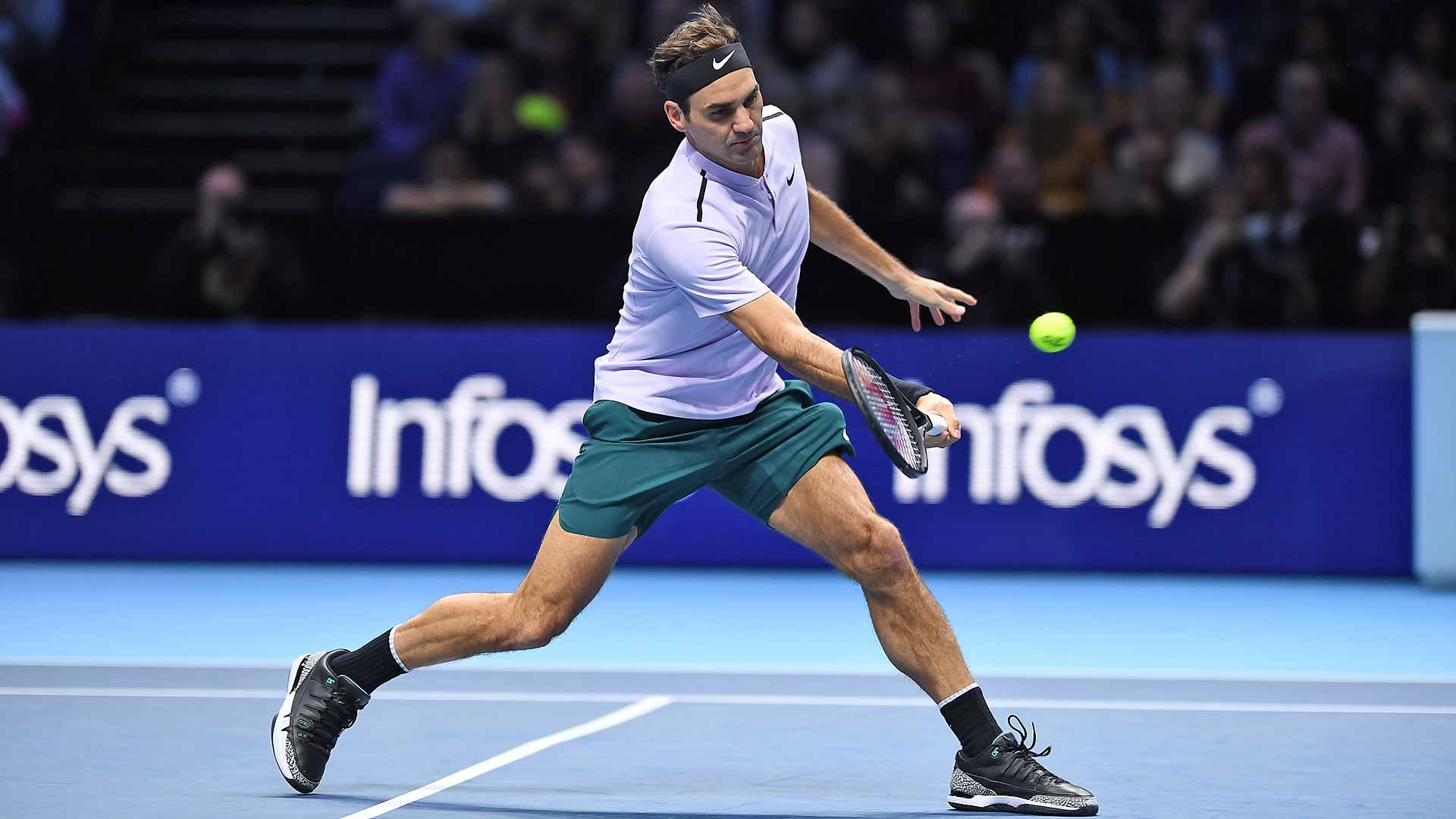 Федерер со триумф над Џек Сок го отвори завршниот турнир во Лондон