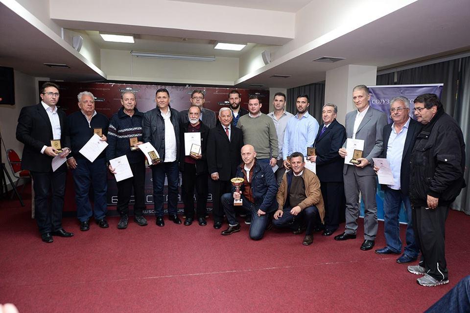Доделени наградите  13 Ноември   три признанија за вардарци