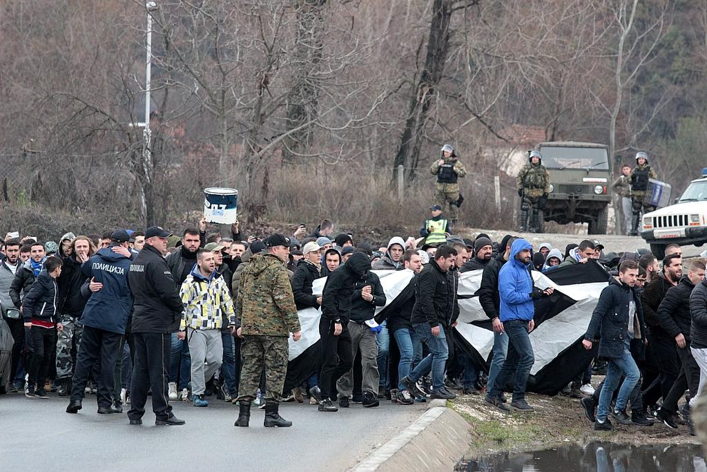 Многу  Шверцери  и уште повеќе полиција во Ѓорче