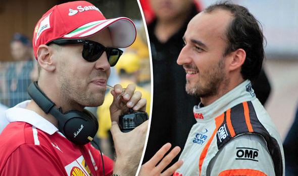 Фетел го нападна Кубица: Не им земај место на младите во Ф1!