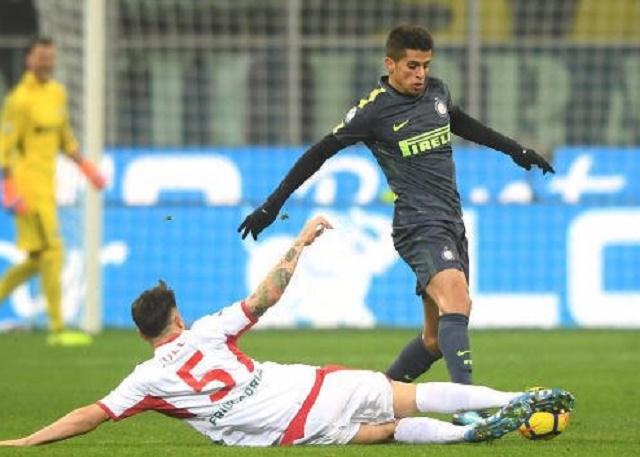 Интер си играше пенал рулет против третолигашот Порденоне   за четвртфинале во Купот