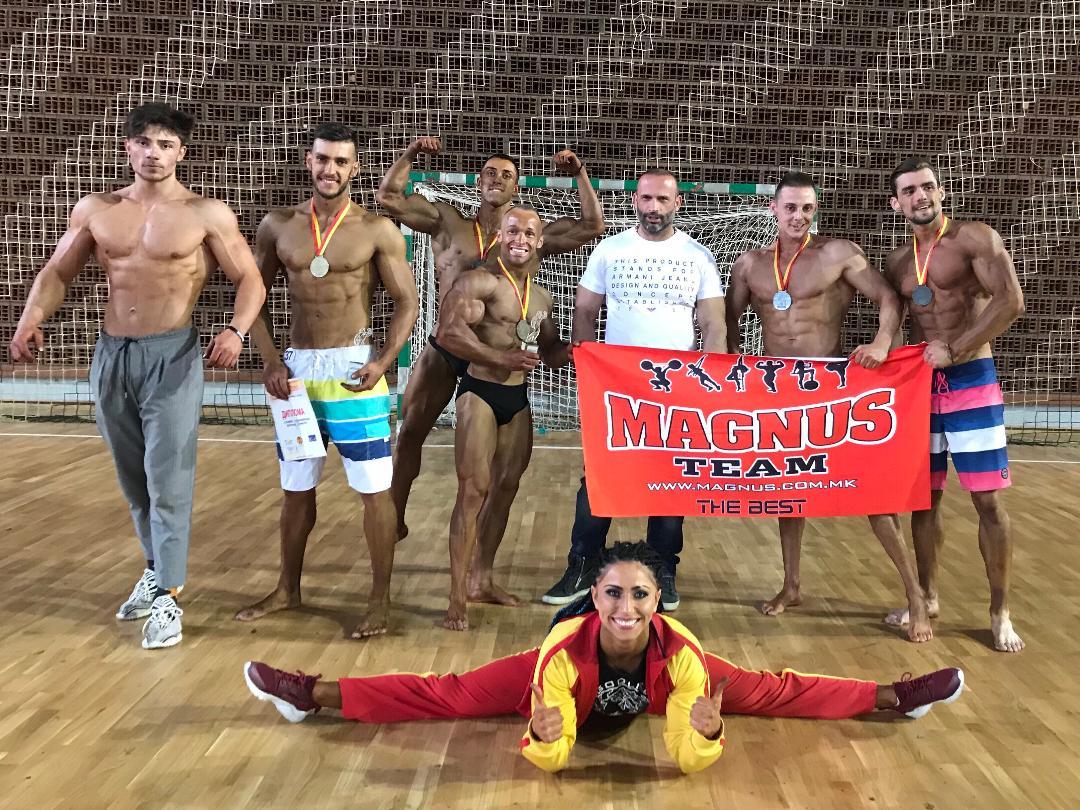 Магнус  е апсолутен победник на Купот на Македонија во боди билдинг и фитнес