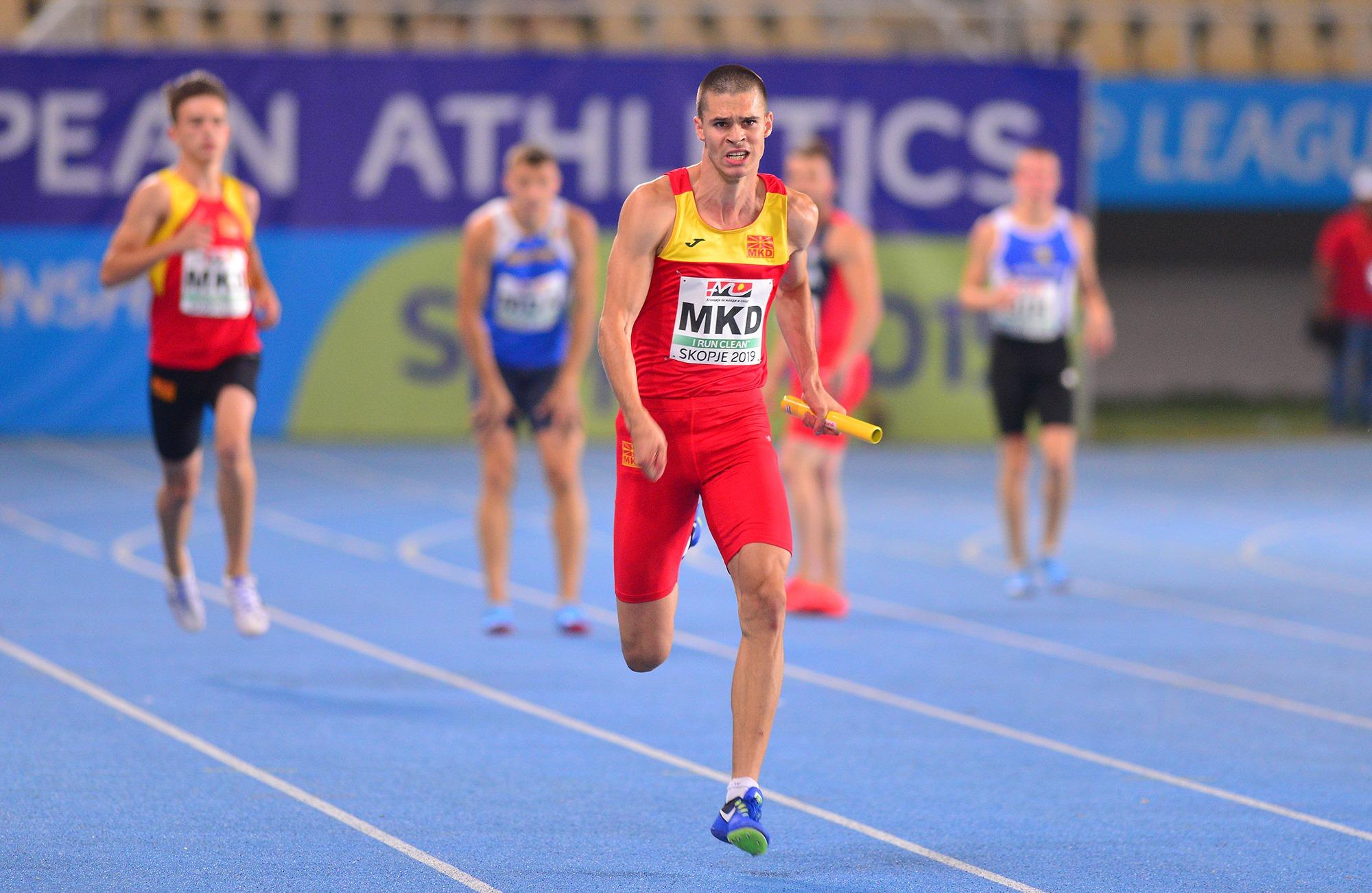 Јован Стојоски денес трча 400 метри на Мундијалот во Доха